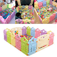 Fencing For Children Baby Playpens Indoor Outdoor Baby Game Playpen Eco Friendly Pe Playpen Fence Kids Act Educational Baby Toys Toddler Play Yard Baby Playpen