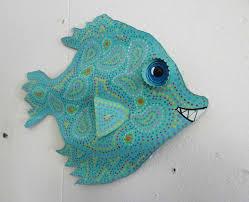 fish wall or outdoor art decor beach