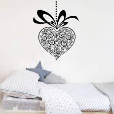 Amazon Com Dozili Vinyl Wall Decal Sticker Wall Art Quote Decor Wall Sticker Coeur Pendentif Pour Chambre Pendant Hefor Bedroom Hose Home Decoration Gift Idea 29 3 X 20 6 Home Kitchen
