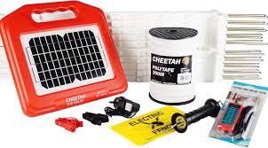 Solar Electric Fence Kit Horse Kit 0 2 Joule 2 Year Warranty Amazon Co Uk Garden Outdoors