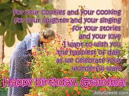 birthday poems for grandma