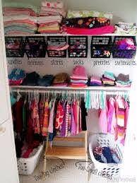 30 Diy Organizing Ideas For Kids Rooms Girls Closet Organization Girl Room Nursery Closet Organization