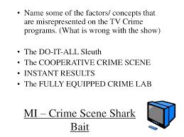 ppt mi crime scene shark bait