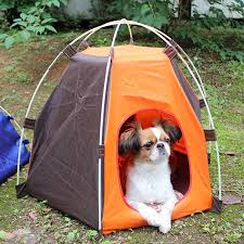 Outdoor Portable Dog Kennel Cat Pet Folding Tent Automatic Dog Camping Fence Rainproof Sunscreen Pet House Travel Carrier Houses Kennels Pens Aliexpress