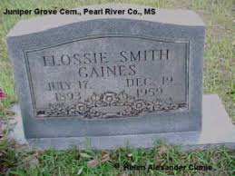 Flossie Smith Gaines
