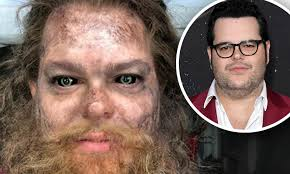 Josh Gad shares his first makeup test as Mulch in Artemis Fowl ...