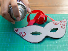 How to Make a Paper Mask: 14 Steps ...