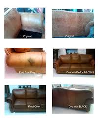 re dye leather chairs leather couch