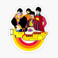 Yellow Submarine Stickers Redbubble