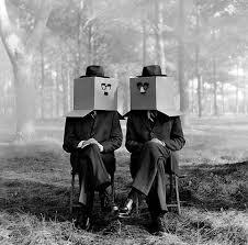 Rodney SMITH :: Cardboard Box Twins Nº 3 | Black and white ...