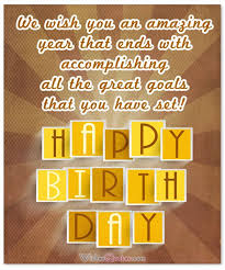 amazing birthday wishes to inspire your employees by birthday