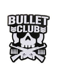 New Japan Pro Wrestling Bullet Club Logo Enamel Pin