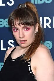 lena dunham s eye makeup has been very