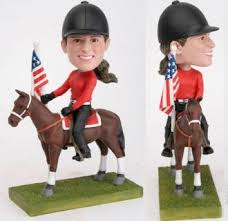 Oh MY! A Wendy Ross Bobblehead at Tioga Downs :: Harnesslink
