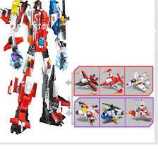Mua combo 6 in 1 máy bay biến hình Robot đồ chơi lắp ráp giá chỉ ...