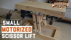 how to fit a motor to diy scissor lift