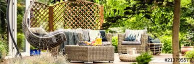 cozy hanging egg chair stylish garden