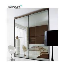 china mirrored closet doors strips wall