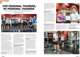 personal trainer courses in singapore