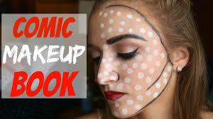 marilyn monroe comic book makeup