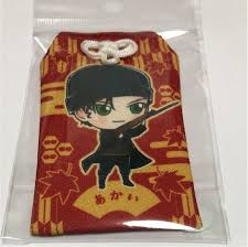 F/S Detective Conan Red school trip Kyoto Tower Amulet Akai ...