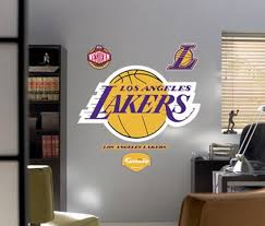 Lakers Logo Fathead Wall Decal Allposters Com