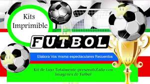 Kit Imprimible Futbol Decoraciones Cajitas E Invitaciones Youtube