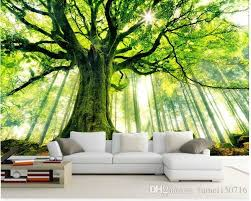 3d Wallpaper Custom Mural Non Woven Wall Stickers Tree Forest Setting Wall Is Sunshine Paintings Photo 3d Wall Mural Wallpaper Cellphone Wallpaper Cellphone Wal Tree Wallpaper Living Room 3d Wallpaper For