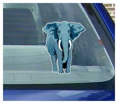 Elephant Car Window Decal Elephant Window Decal Vehicle Stickers Westickerthang Cwv Eleph 7 95 Westickerthang Offers A Wide Variety Of Sticker Wall Decals Wall Nursery Art And Car Window Stickers