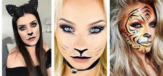 halloween cat face makeup ideas 2019