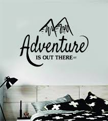 Adventure Is Out There V2 Wall Decal Sticker Bedroom Living Room Art V Boop Decals