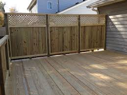 Privacy Screen On Deck A Great Way To Block The View Of Things You Don T Want To See Privacy Fence Designs Privacy Fences Privacy Wall On Deck