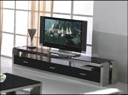 china elegant tempered glass tv rack