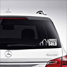 Ask Me About Real Estate Car Decal Sticker Realtor Car Decal Real Estate Car Decal Realtor