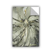 Brushstone Black Gold Swirl Removable Wall Decal Color Grey Jcpenney