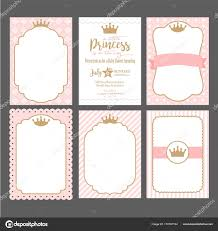 Descargar Conjunto Plantillas Rosados Lindos Para Invitaciones M