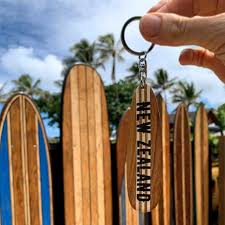surfboard keyring not socks gifts nz