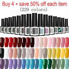 lemooc 229 colors gel nail polish set