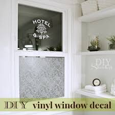 Diy Window Vinyl Decal Diy Show Off Diy Decorating And Home Improvement Blogdiy Show Off Diy Decorating And Home Improvement Blog