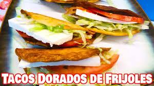 tacos dorados de frijoles you