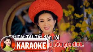 Karaoke Ngày Tết Quê Em - Mai Lệ Quyên
