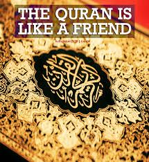 the quran is like a friend the longer the best islamic quotes
