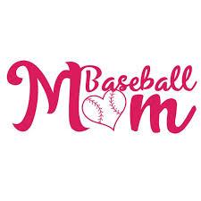 Baseball Mom Decal Sticker 7 Inches By 2 7 Inches Hot Pink Vinyl Walmart Com Walmart Com