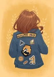 emily redhair hufflepuff hogwarts