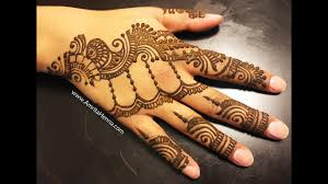 bridal mehndi designs for engagement