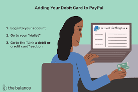 how to use a debit card for paypal