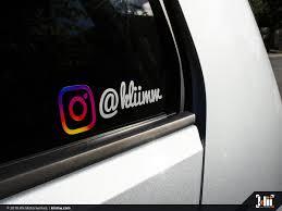 Premium Custom Instagram Decals Klii Motorwerkes