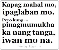 hugot lines tagalog