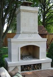 outdoor fireplace like this on my patio