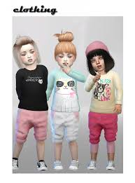 toddler clothes by shojoangel sims 4